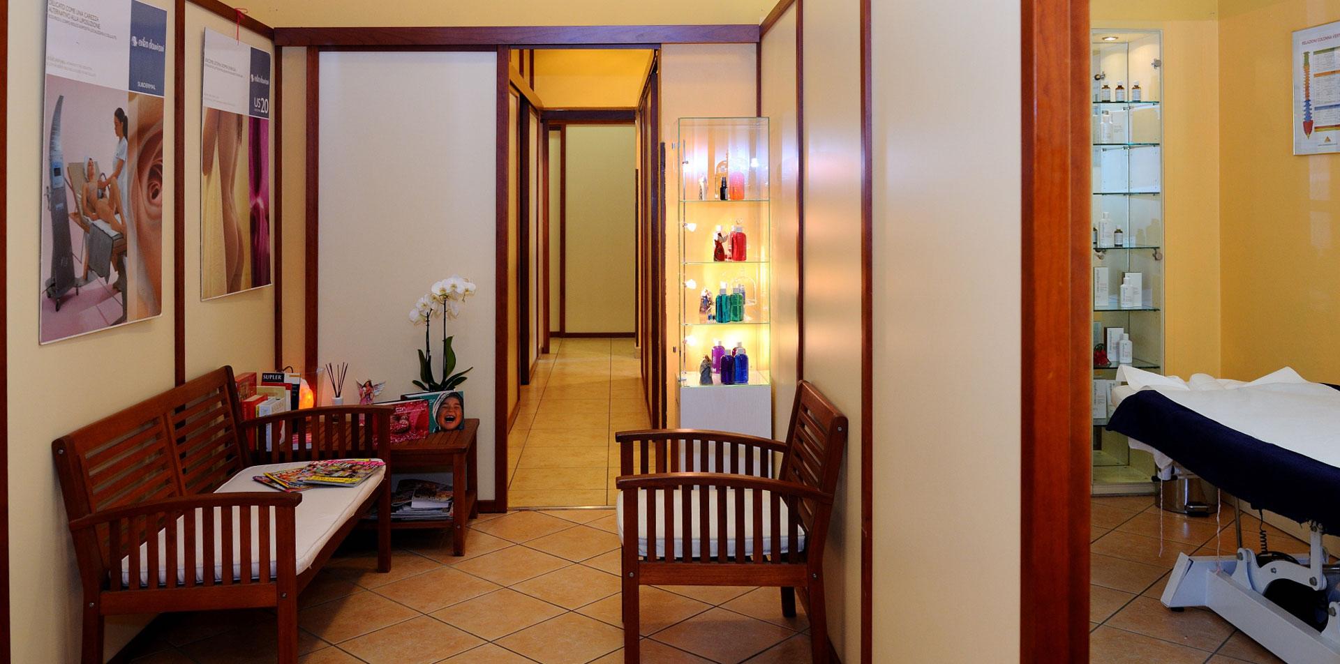 centro estetico anima e corpo sala attesa